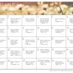 Prayer Calendar Verses for Husbands